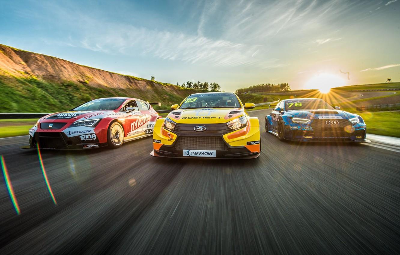 Wallpaper Audi car Lada Kazan Motorsport Touring Seat TCR 1332x850