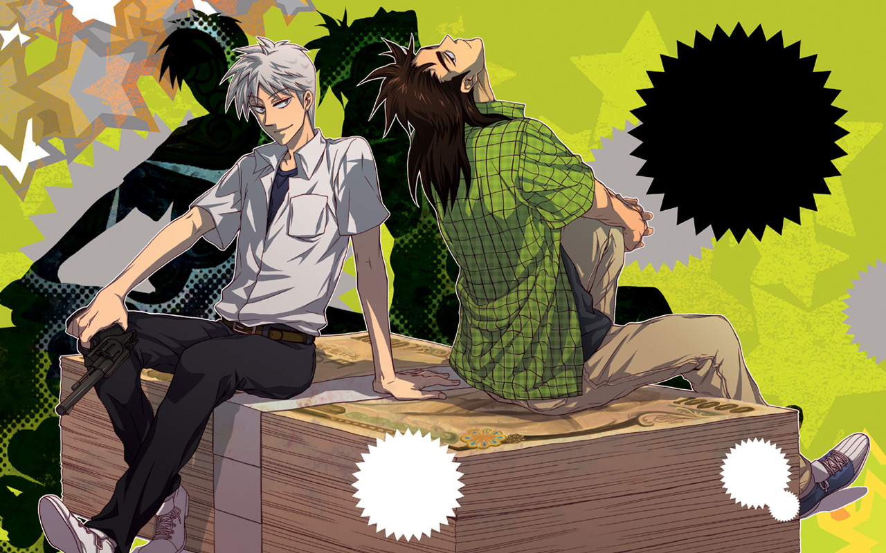 Itou Kaiji   Tobaku Mokushiroku Kaiji   Zerochan Anime Image Board 1280x800