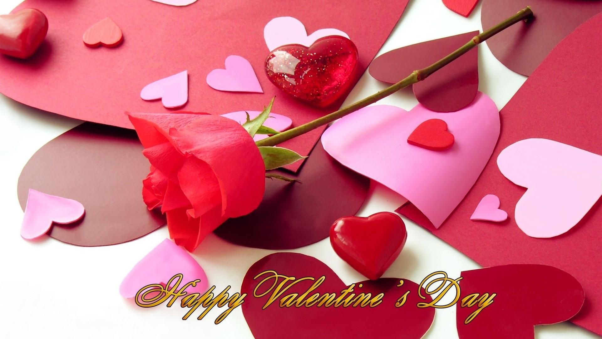 Happy Valentines Day Flower HD Wallpaper of Love   hdwallpaper2013com 1920x1080