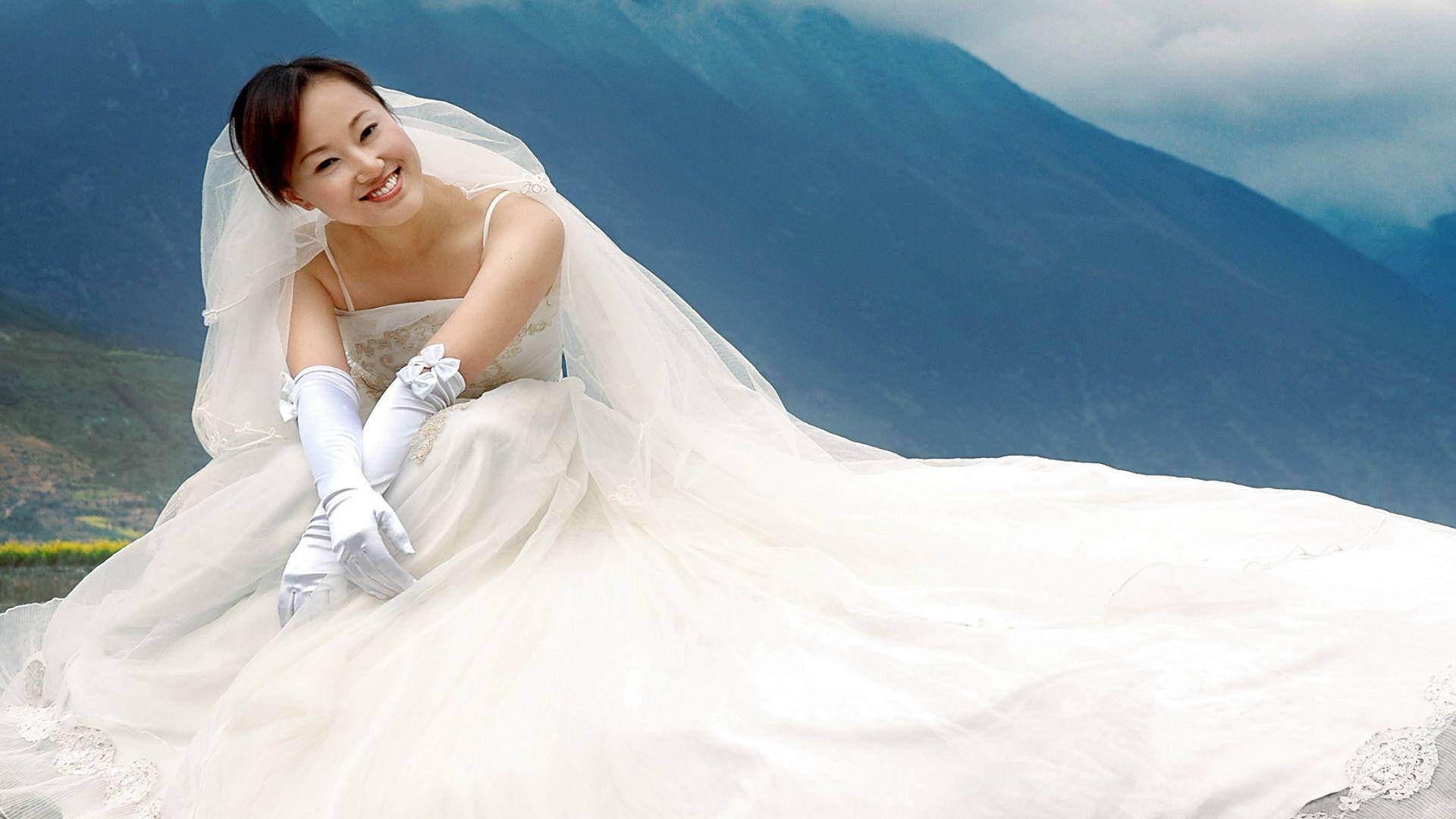 свадебное платье для невесты на фото 1680х1050 и более