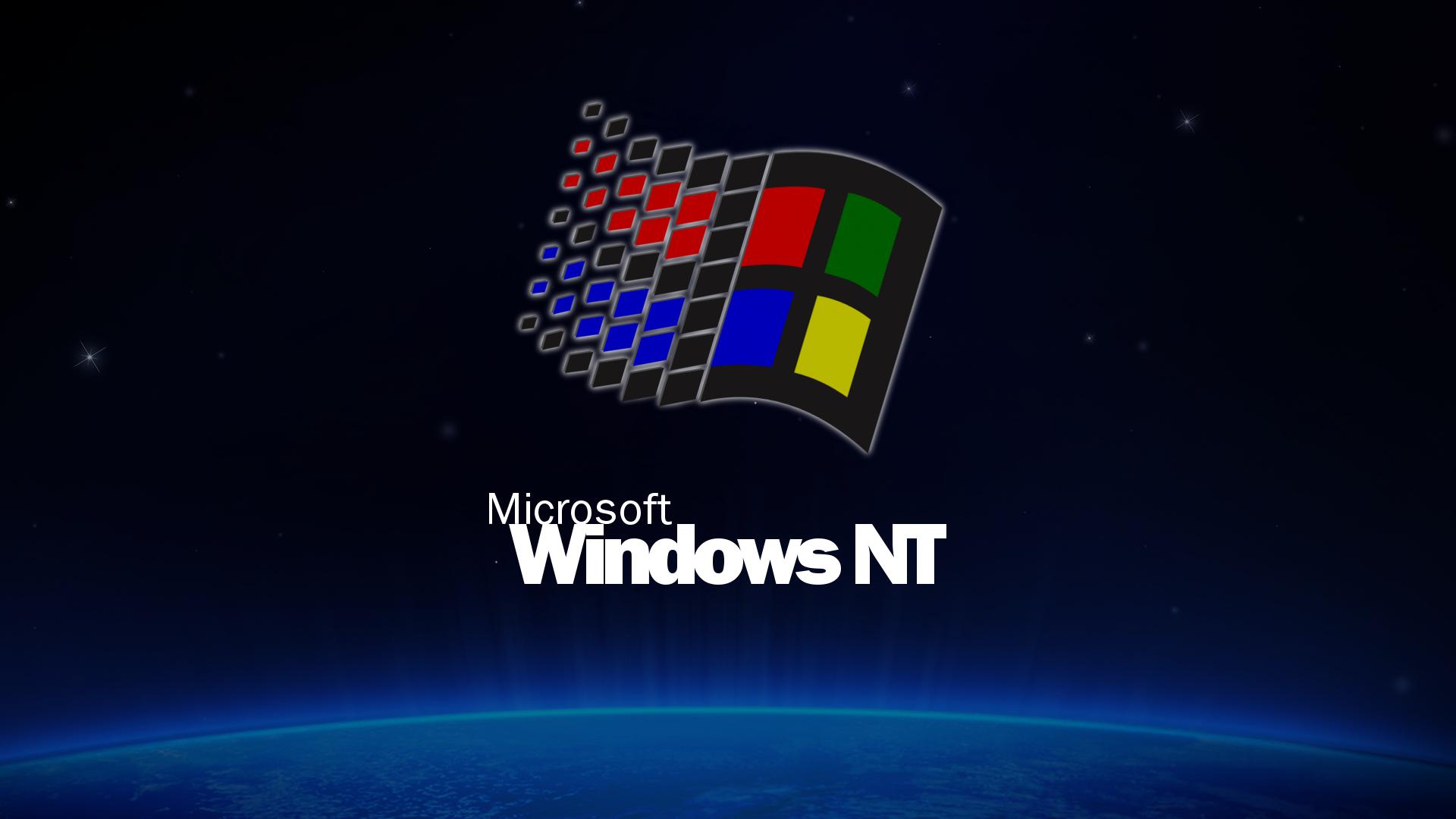 Windows Nt  Inspired Wallpaper X