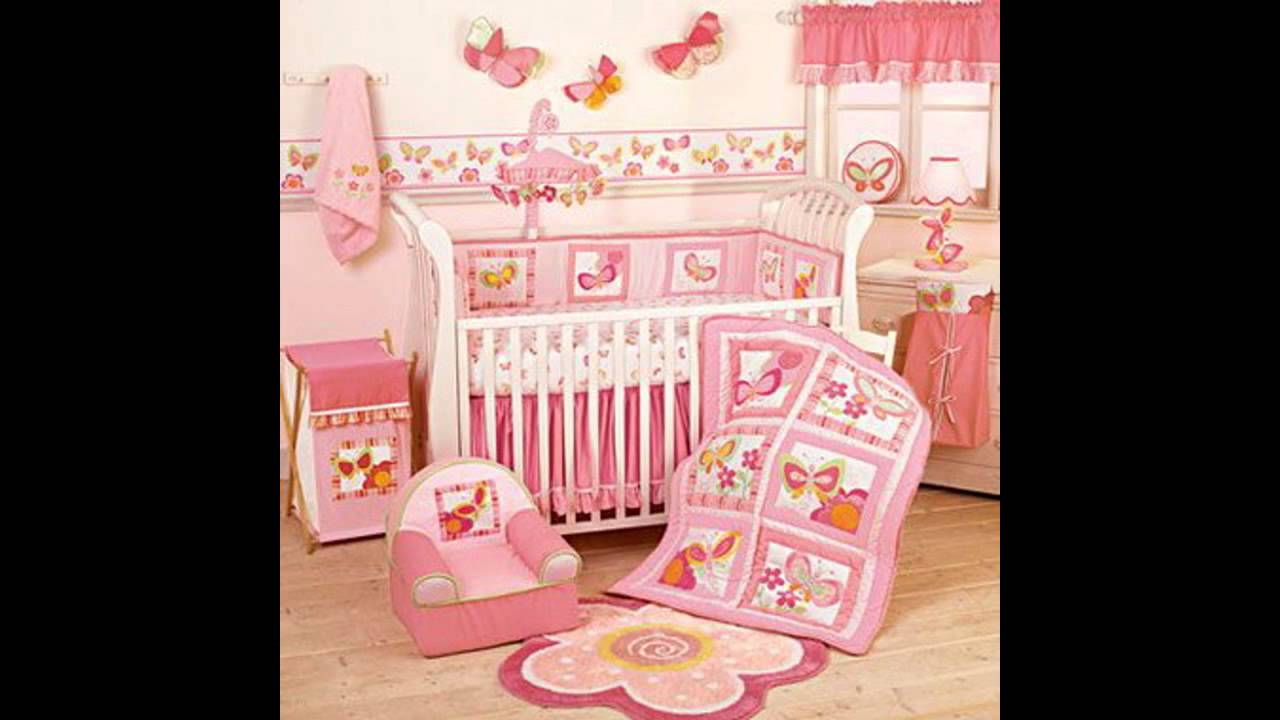 Baby room Wallpaper border decor ideas 1280x720
