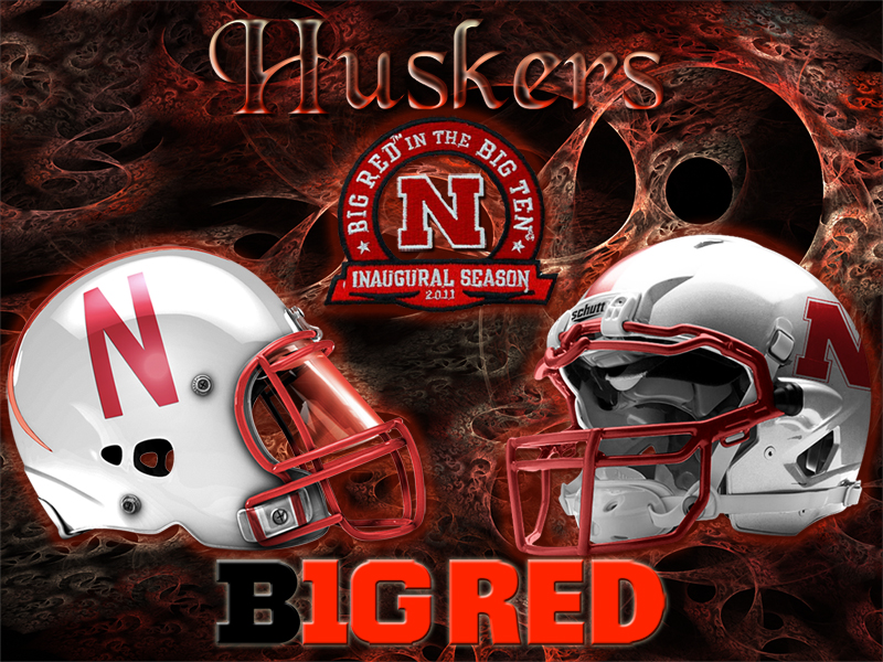 Nebraska Cornhuskers B1G Red Wallpaper Download Wallpaper 800x600