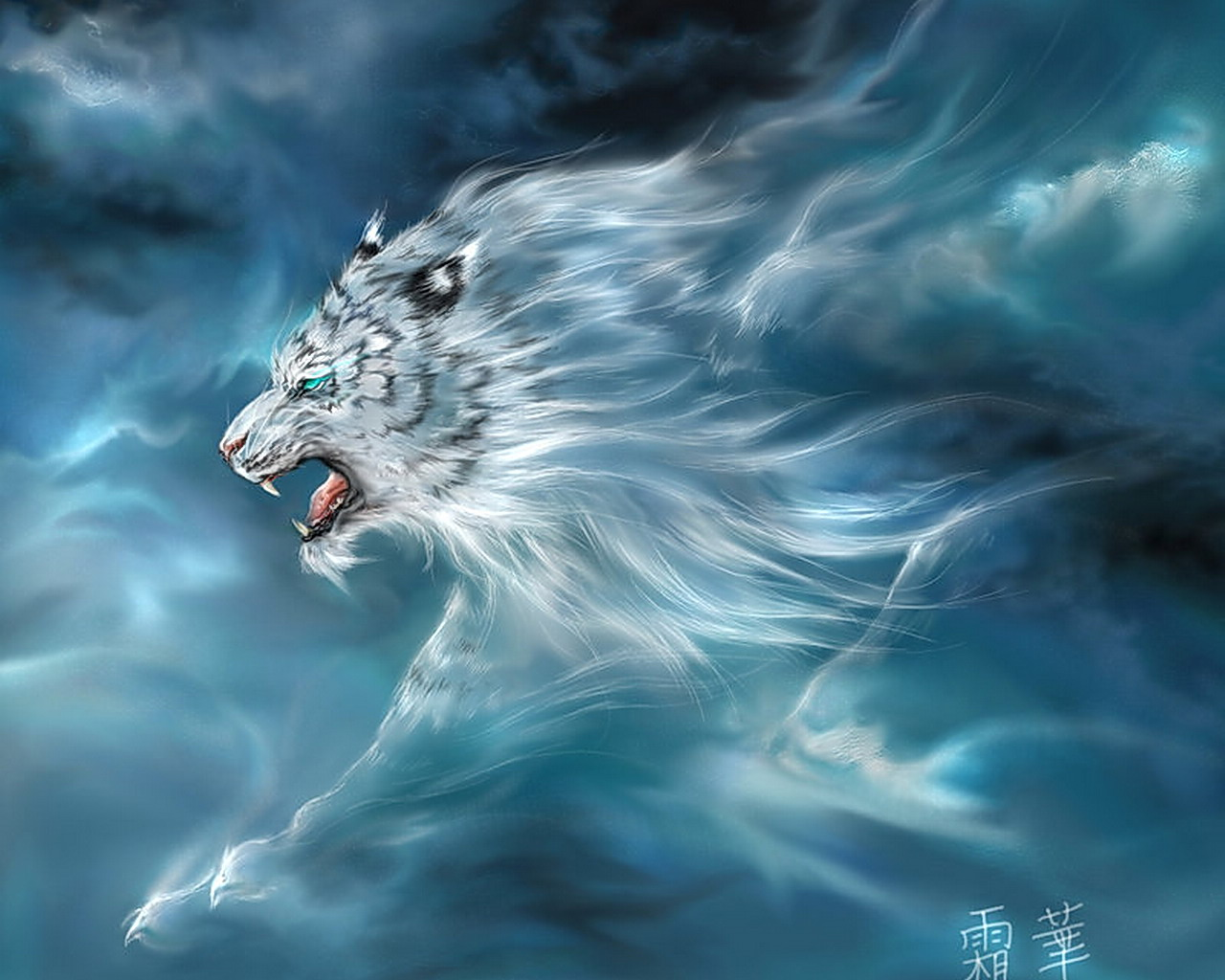 White Tiger HD Wallpapers HD 649 Animal   bwallescom Gallery 1280x1024