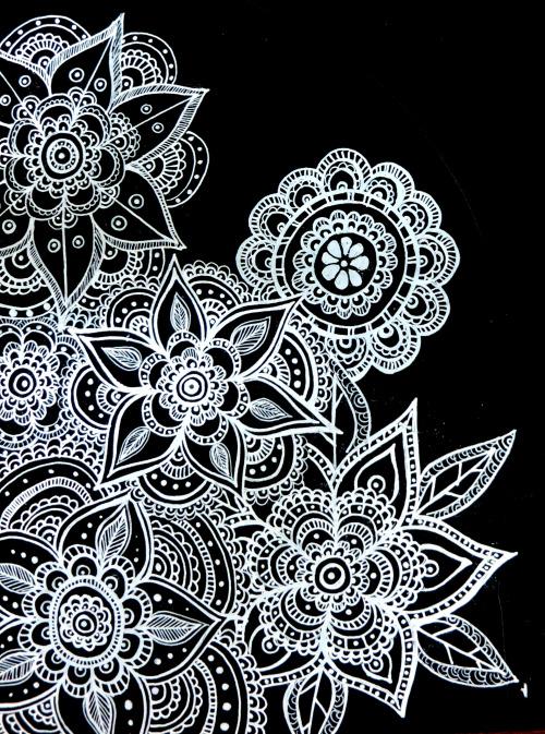 Mandala background for a commission 500x673