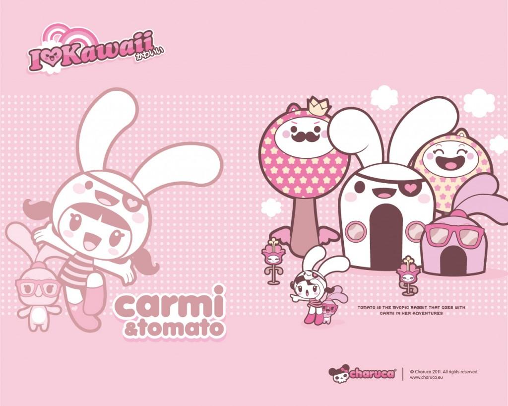 Pink Charuca Wallpaper I Love Kawaii Kawaii Wallpapers 1024x818