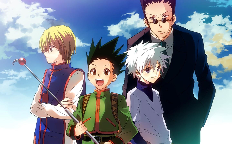Kurapika Gon Killua Leorio Hunter X Hunter 2011 Anime Hd Wallpaper N00 1440x900