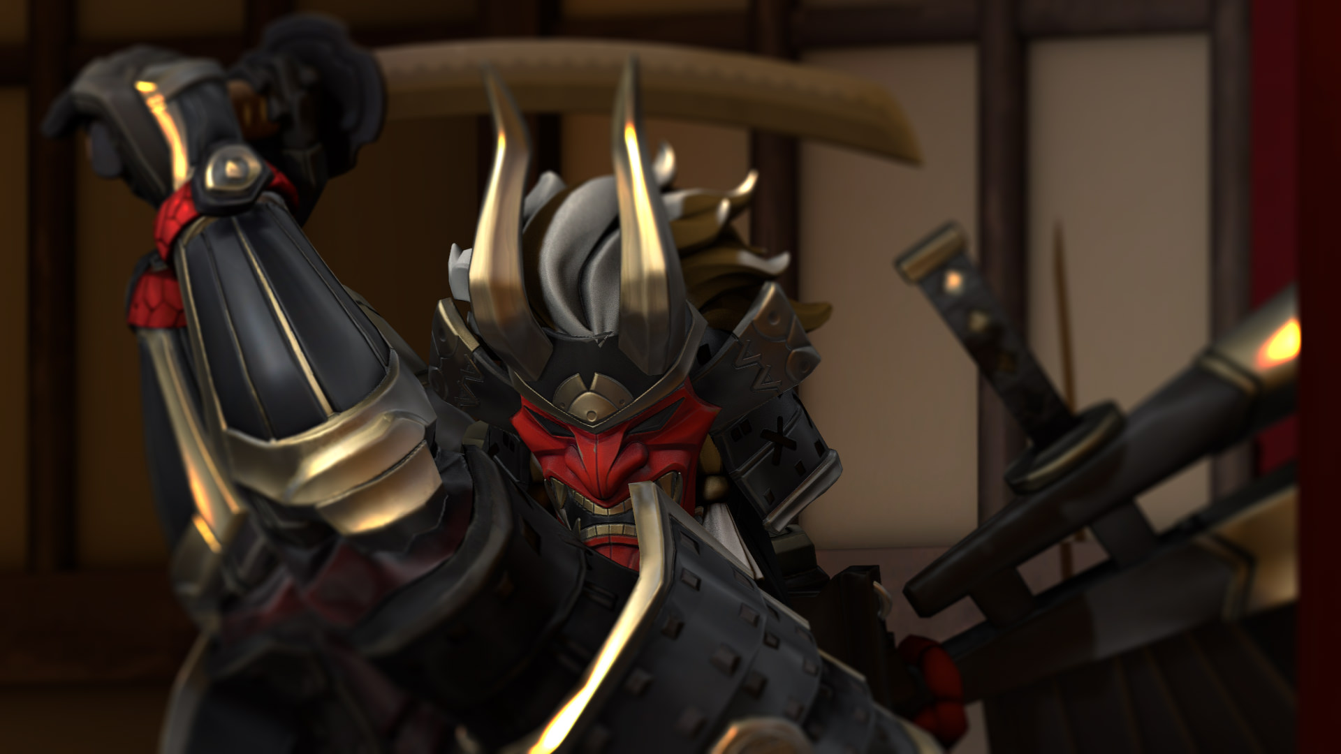 First time using SFM made a thing with new Shogun model   Album 1920x1080