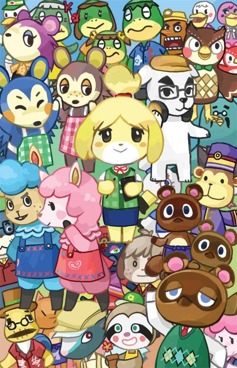Free Download Animal Crossing Fan Art Animal Crossing Acnl Fan Art