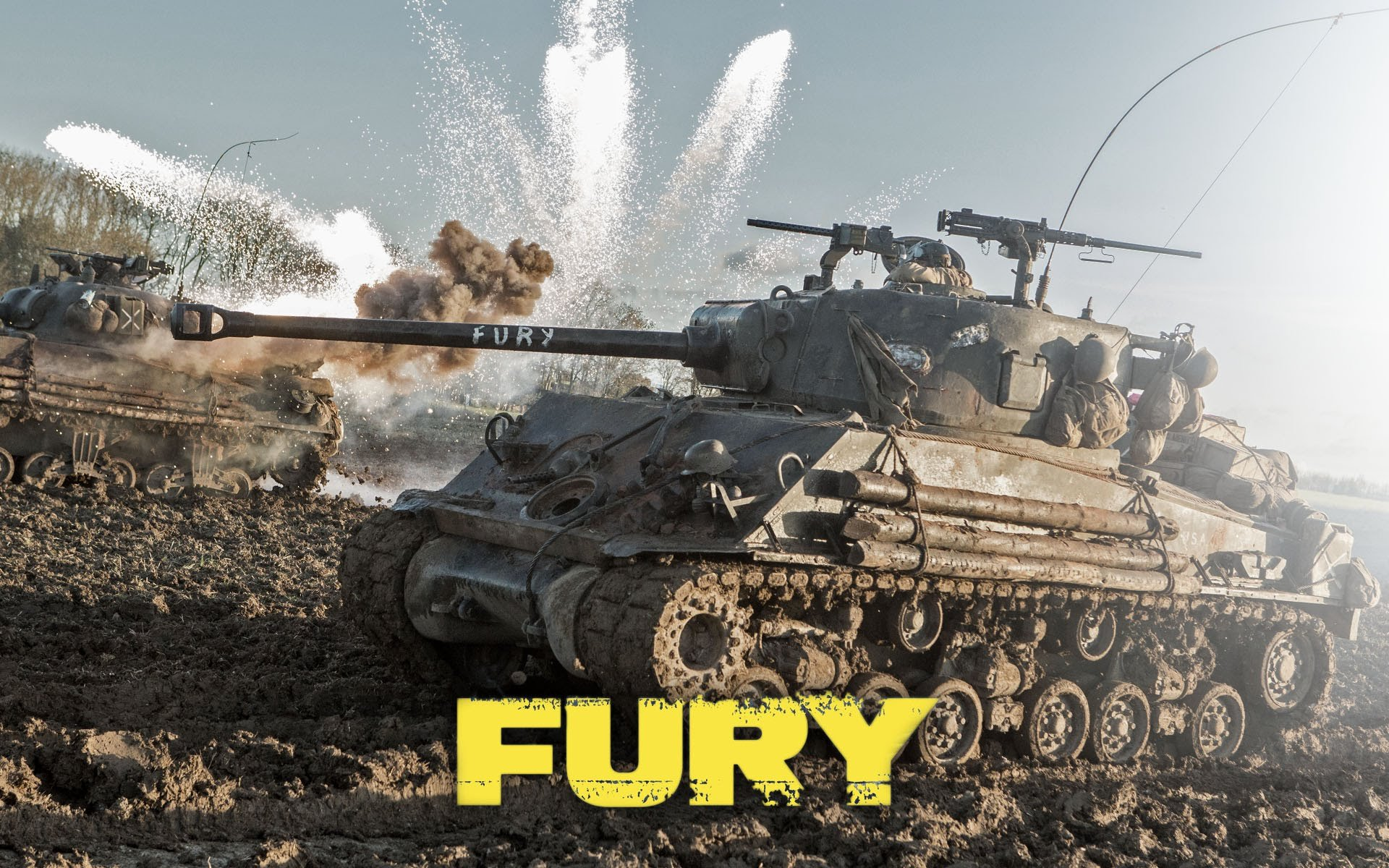 FURY action drama war brad pitt military tank war 1fury fighting 1920x1200