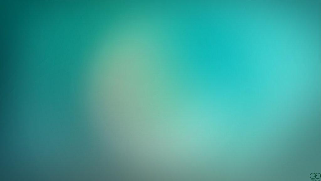 Blurry Cool Blue Green Wallpaper by darkchronix95 1024x576