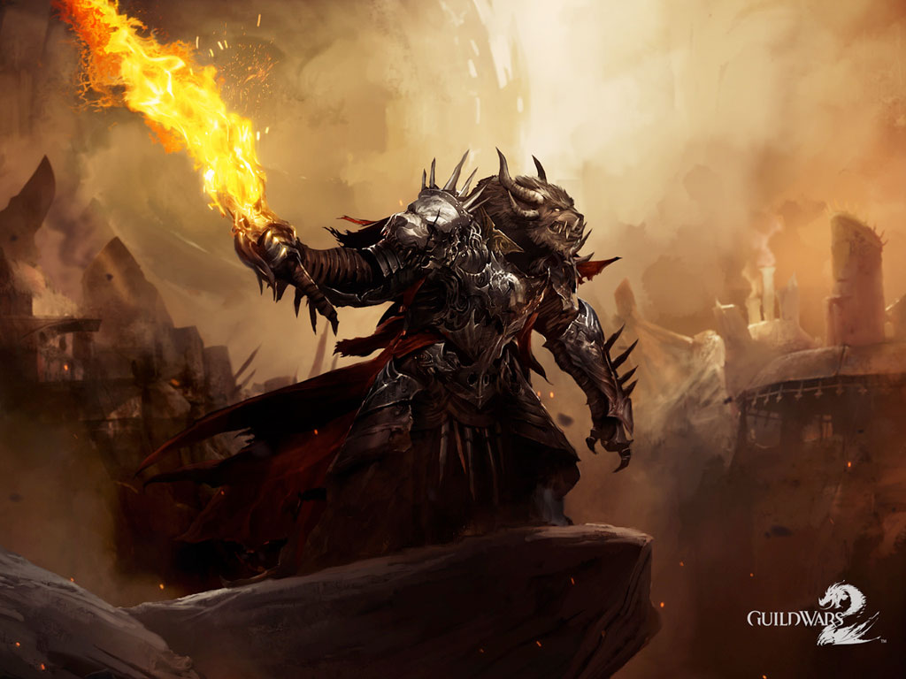 Wallpaper Art for Guild Wars 2 via the official site] 1024x768