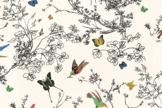 22 Breath-Taking Interiors with de Gournay Wallpaper