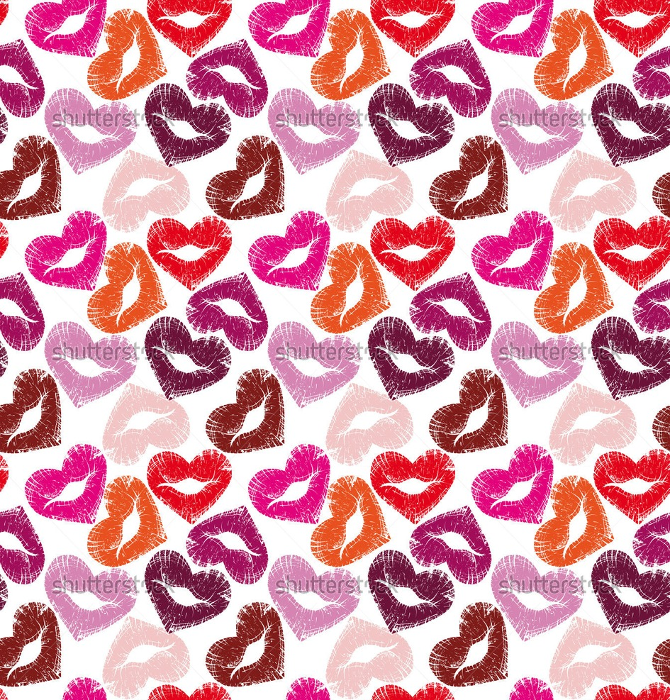 glitter lips wallpaper