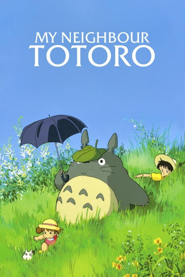 Free Download Totoro Iphone Wallpaper My Neighbor Totoro