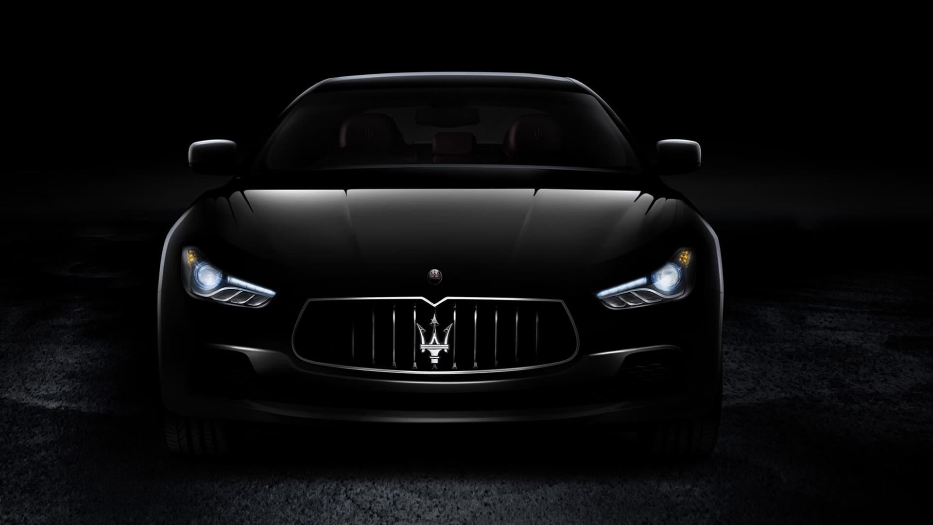Best 35 Maserati Black Background on HipWallpaper Maserati Logo 1920x1080