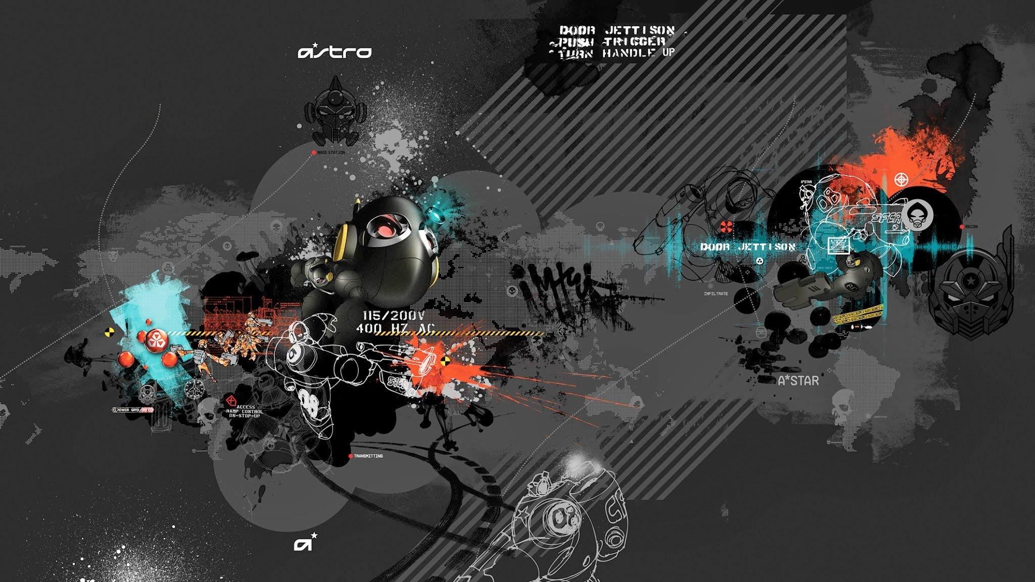 Astro Gaming Wallpaper 2048x1152