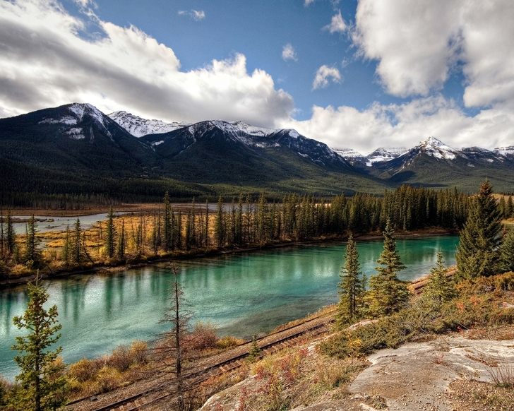 banff national park rivers 1280x1024 wallpaper High Quality Wallpapers 728x582