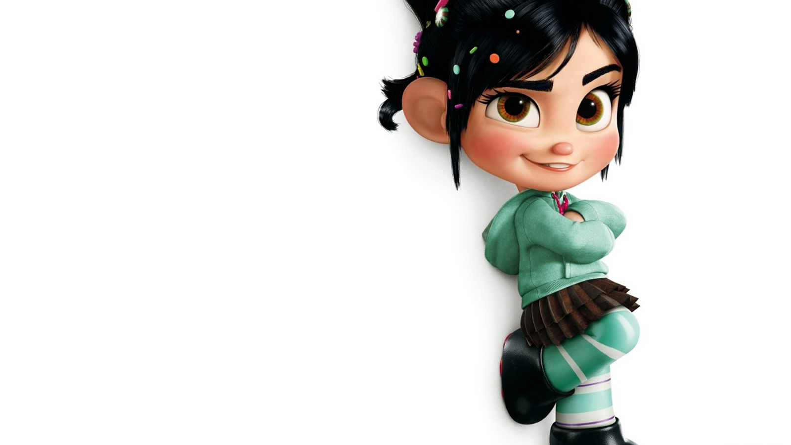 Disney Wreck It Ralph 3D Animation HD WallpapersImage to Wallpaper 1600x900