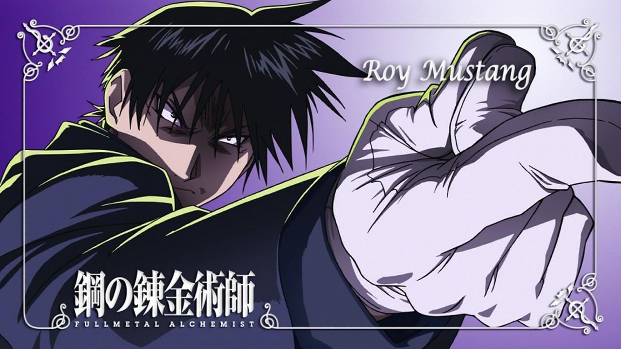 Download Full Metal Alchemist Brotherhood Roy Mustang Wallpaper 1280x720