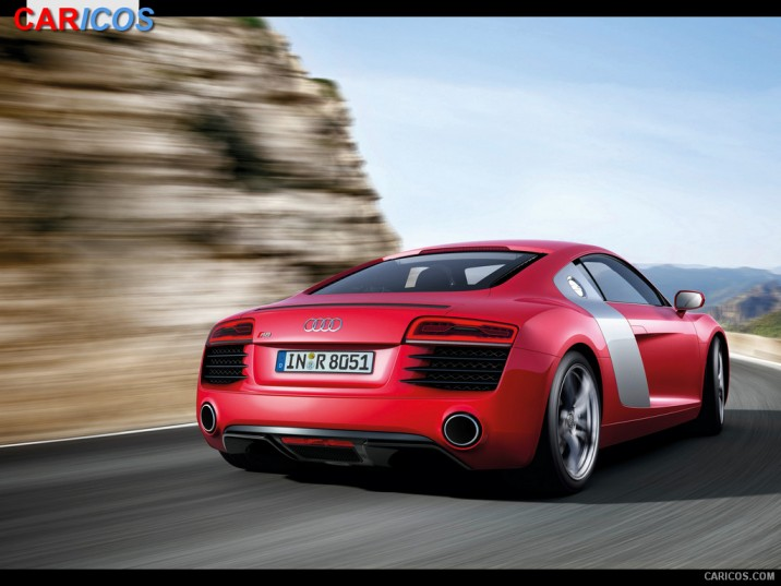2013 Audi R8   Rear HD Wallpaper 6 1920x1080 716x537