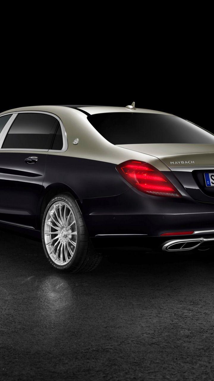 Mercedes Maybach S 560 4MATIC luxury car rear 720x1280 720x1280