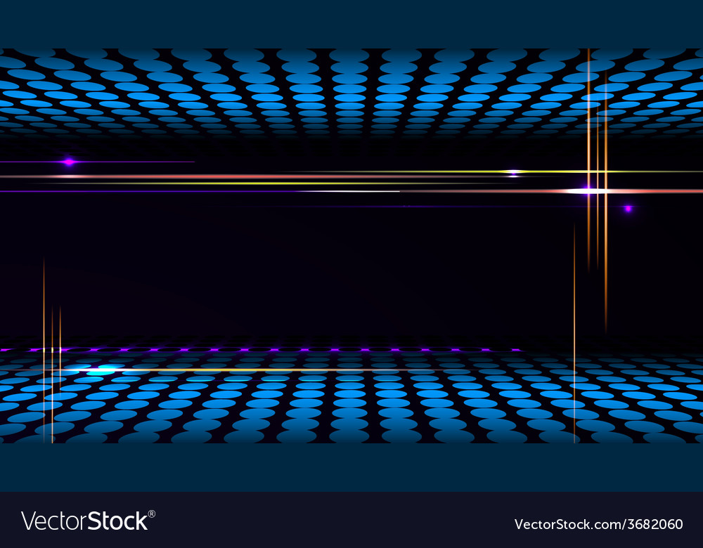 Party background with led display background and Vector Image 1000x780