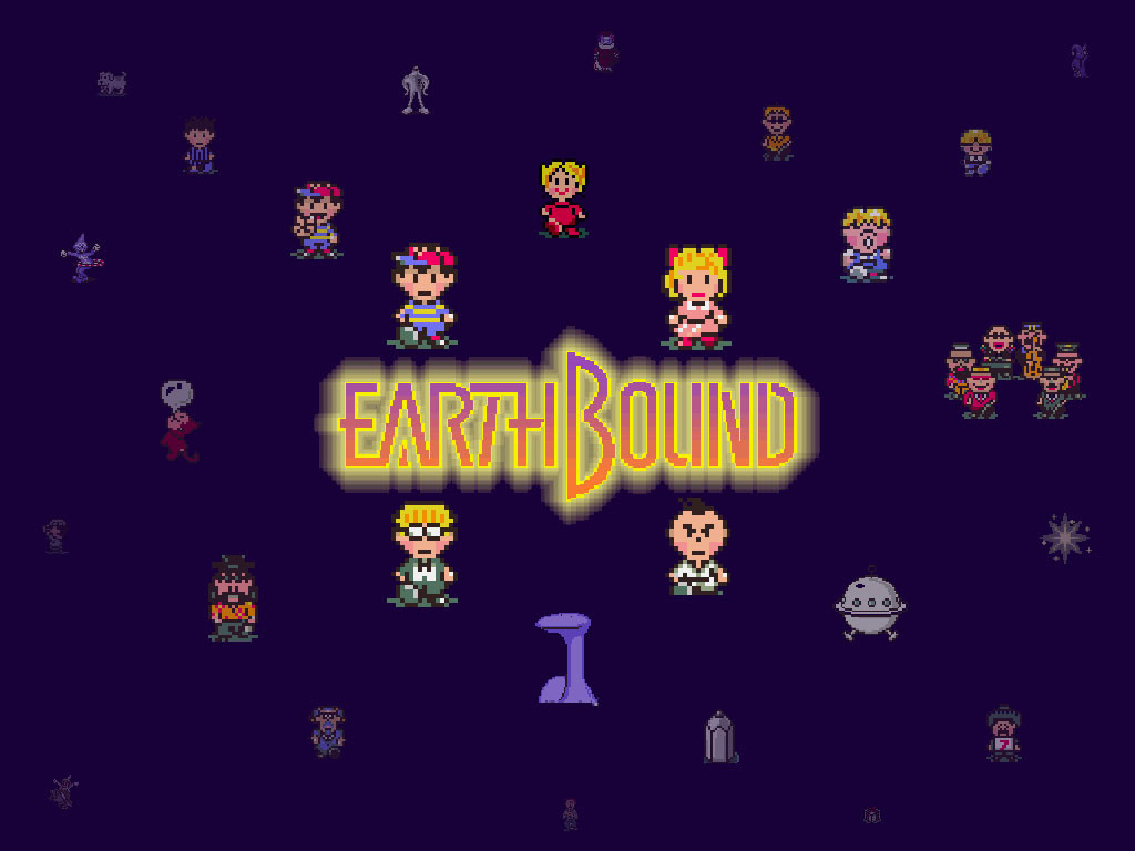 Earthbound Wallpapers 1024x768