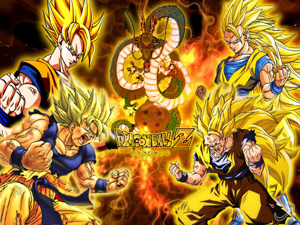 Dragon Ball Z Goku 1024x768