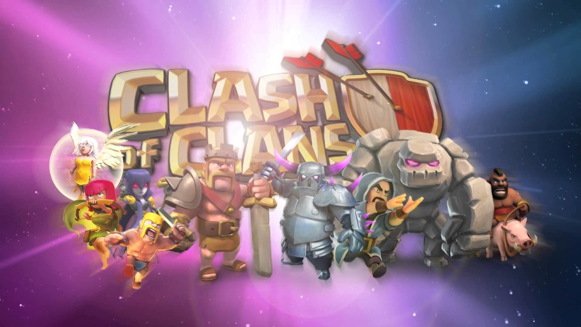 Clash of clans the royal court HD Wallpaper Background Image 1920x1080