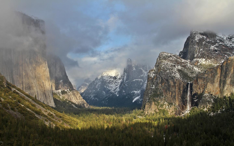 Yosemite Wallpaper The Tunnel View 1440x900