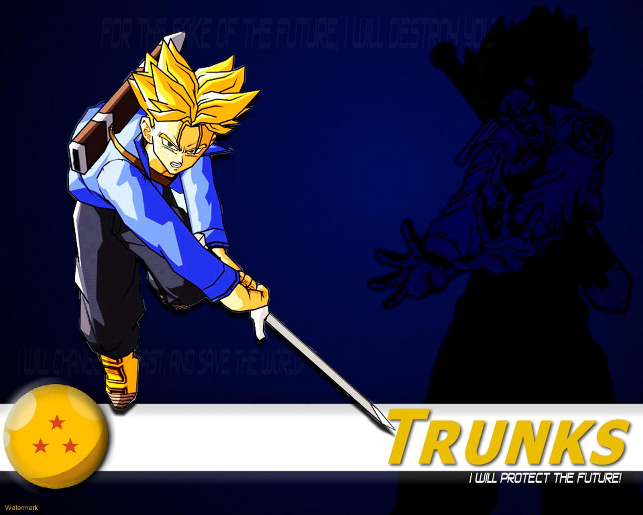 Download Trunks wallpaper trunks 1280x1024