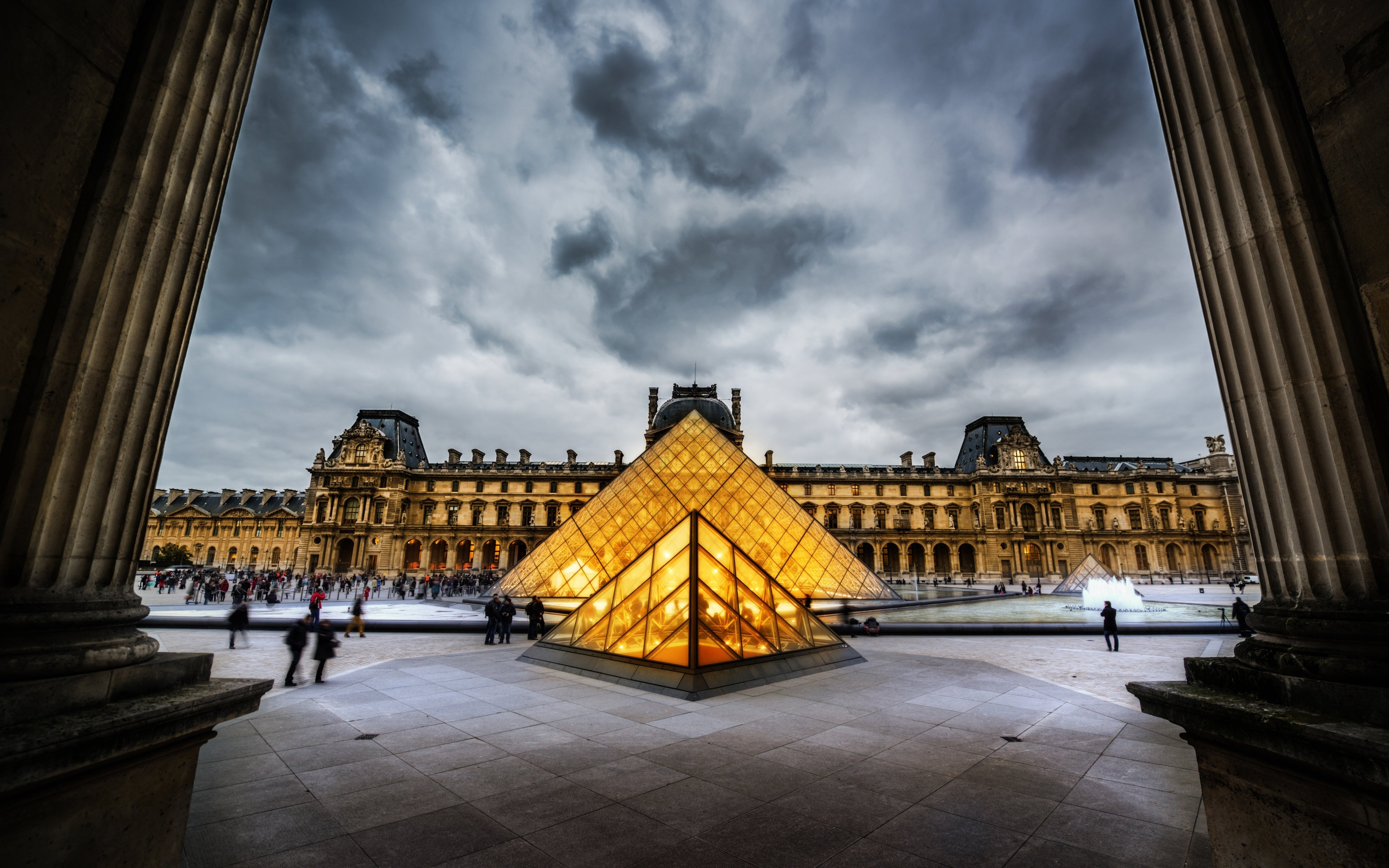 17 The Louvre HD Wallpapers Background Images 5120x3200