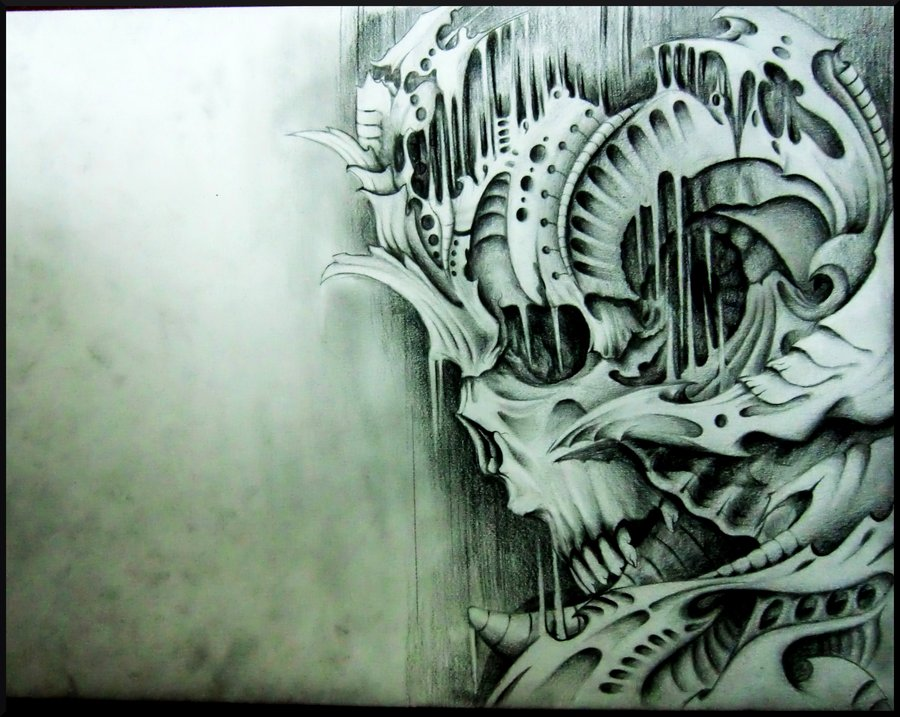 Biomechanical HD Wallpaper - WallpaperSafari