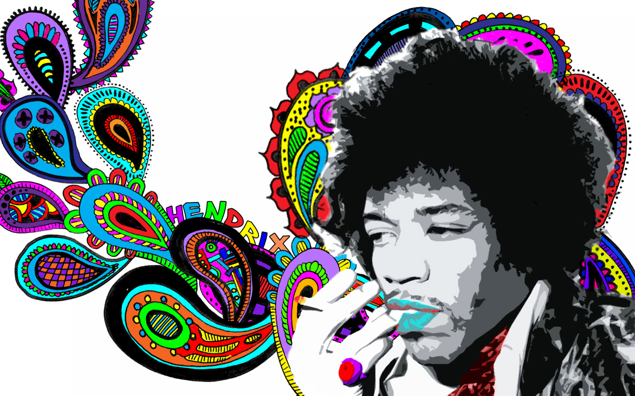 1280x800px jimi hendrix wallpaper hd wallpapersafari jimi hendrix rainbow wallpaper hd widescreen jimi hendrix 1280x800 altavistaventures Choice Image