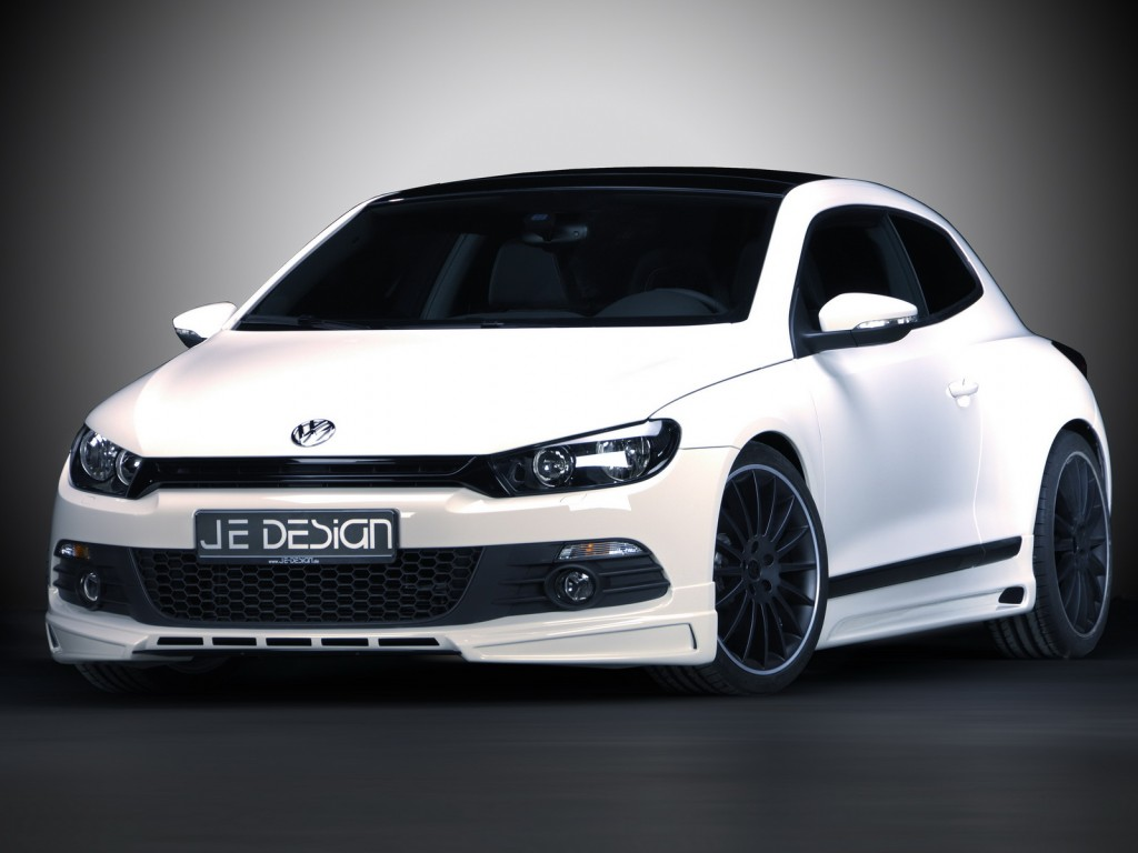 je design volkswagen scirocco vw wallpaper 1024x768