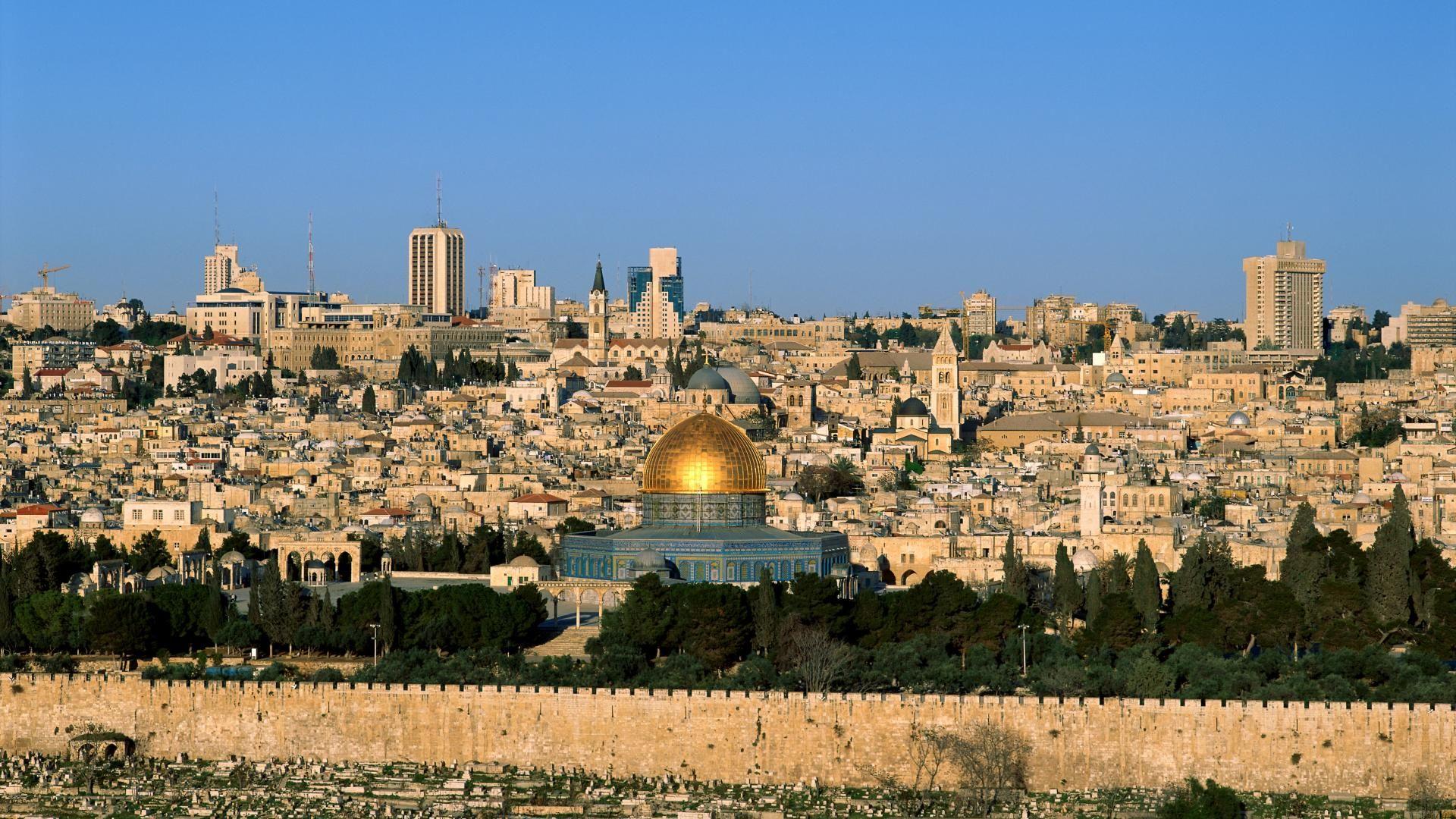 Jerusalem Wallpaper HD 1920x1080
