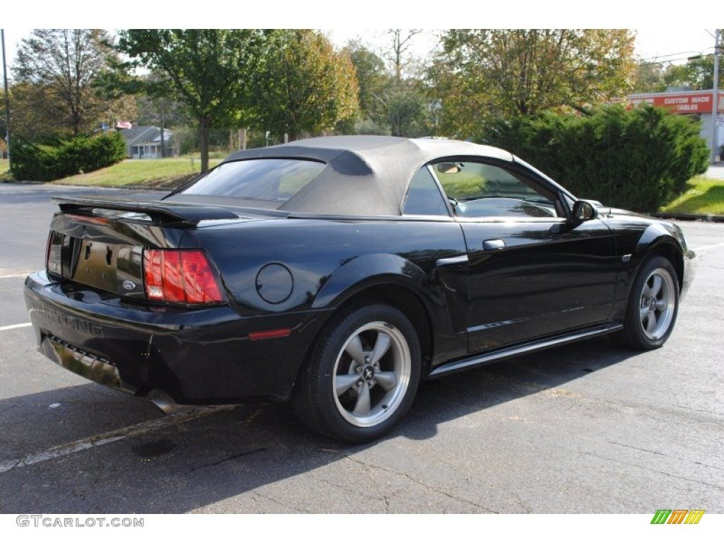 gt Ford Mustang gt Mustang Convertible Black Mustang 2001 Ford 1024x768
