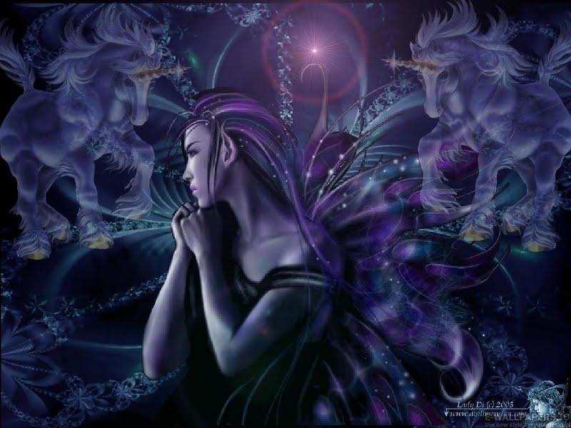 49 Dark Fairy Wallpaper For Desktop On Wallpapersafari