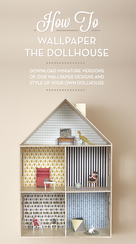 How to Wallpaper a Dollhouse   printable paper Most Popular 560x999