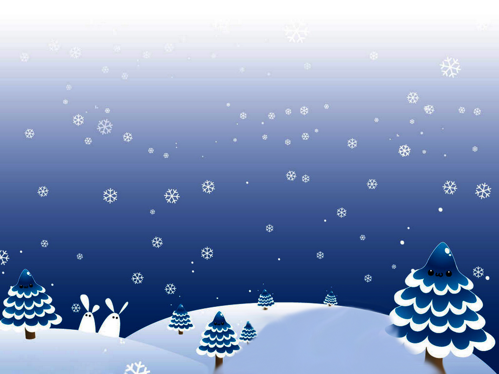 Summary Free Christmas Background Template For Powerpoint Free