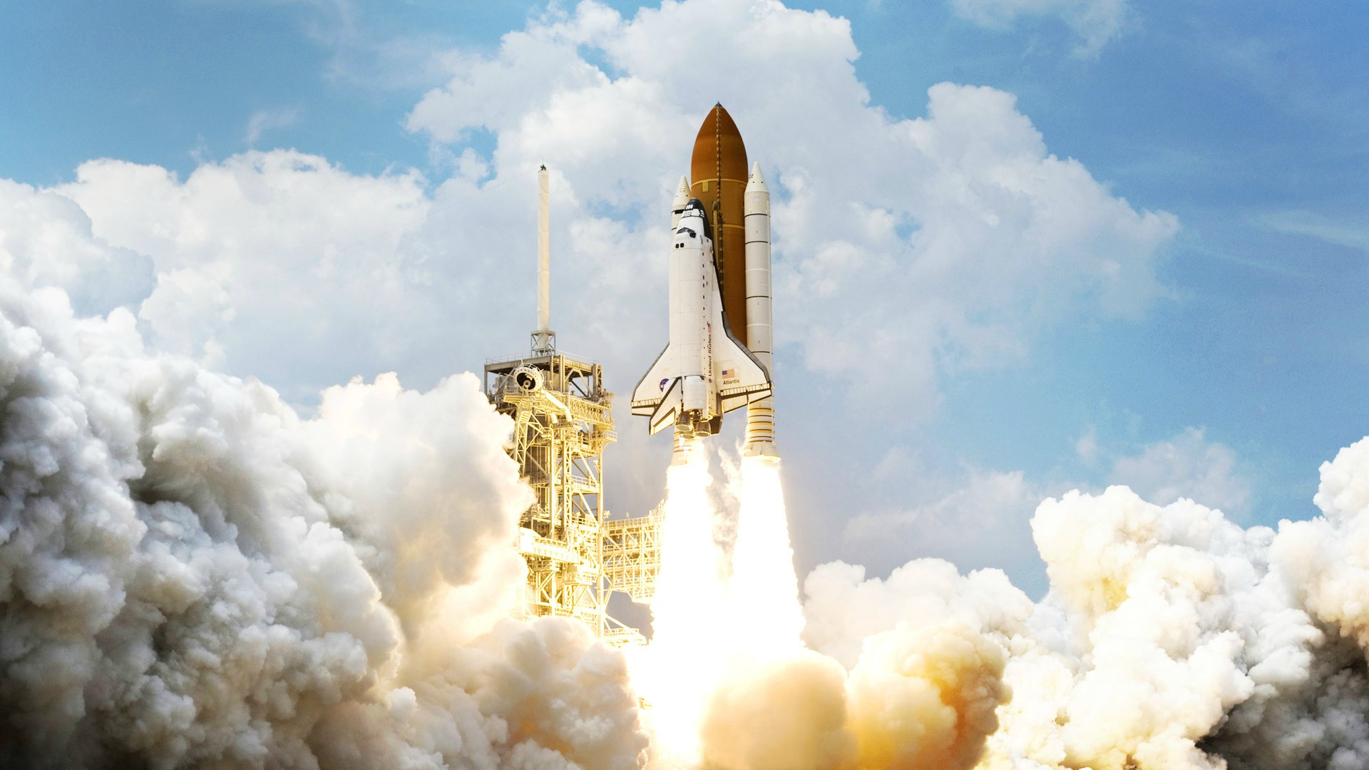 space shuttle space background - photo #22