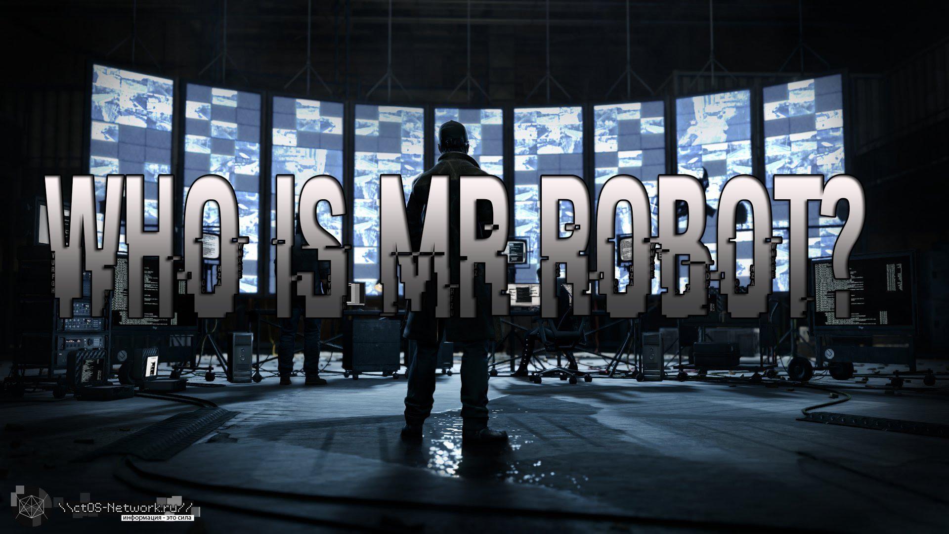 Mr Robot HD Wallpapers for desktop download 1920x1080