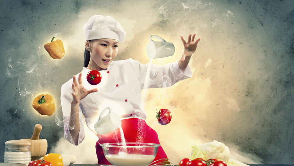 pepper vegetables cook cooking creative girl wallpaper and 970x550