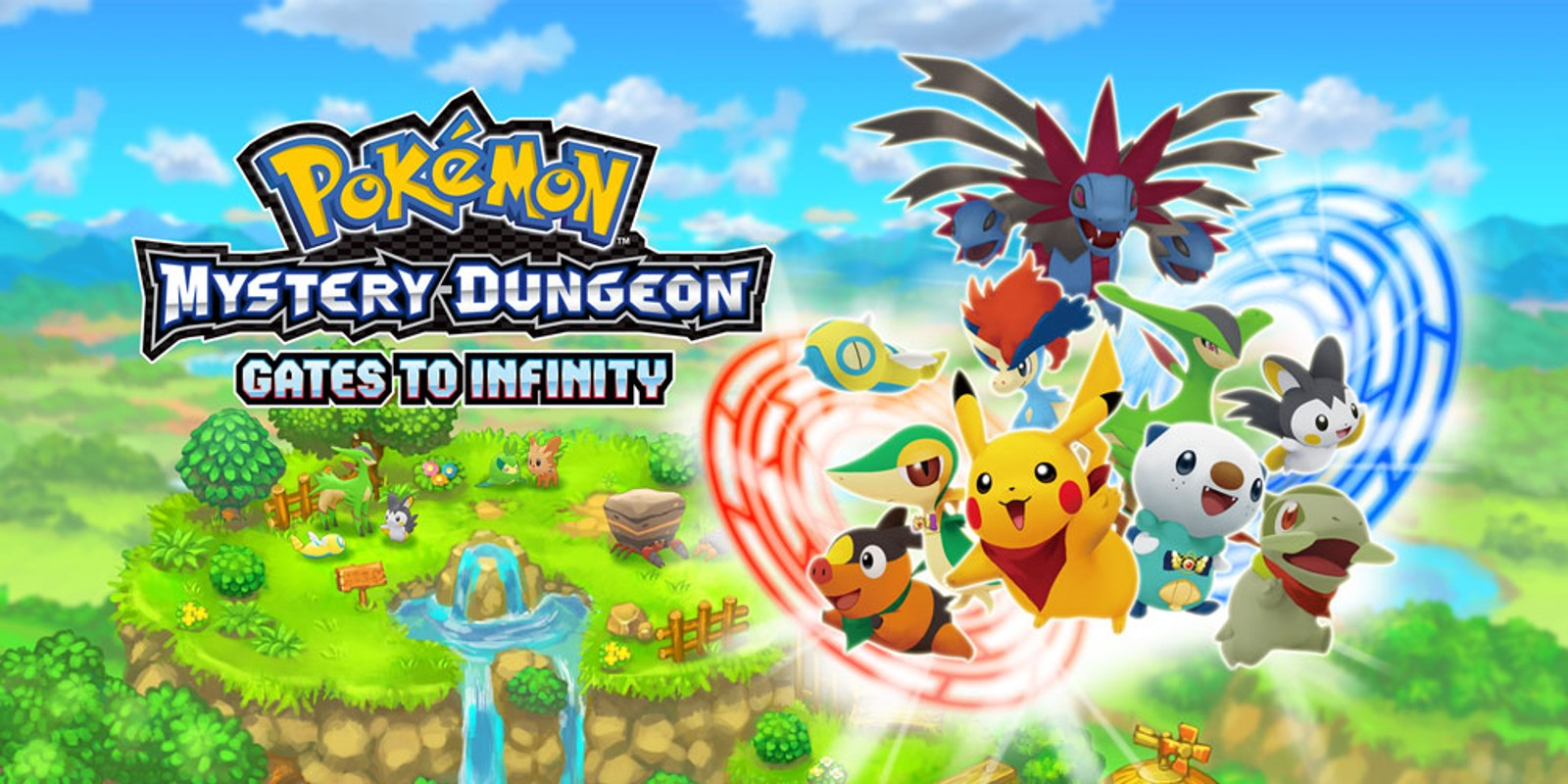 Pokmon Mystery Dungeon Gates to Infinity Nintendo 3DS Games 1600x800