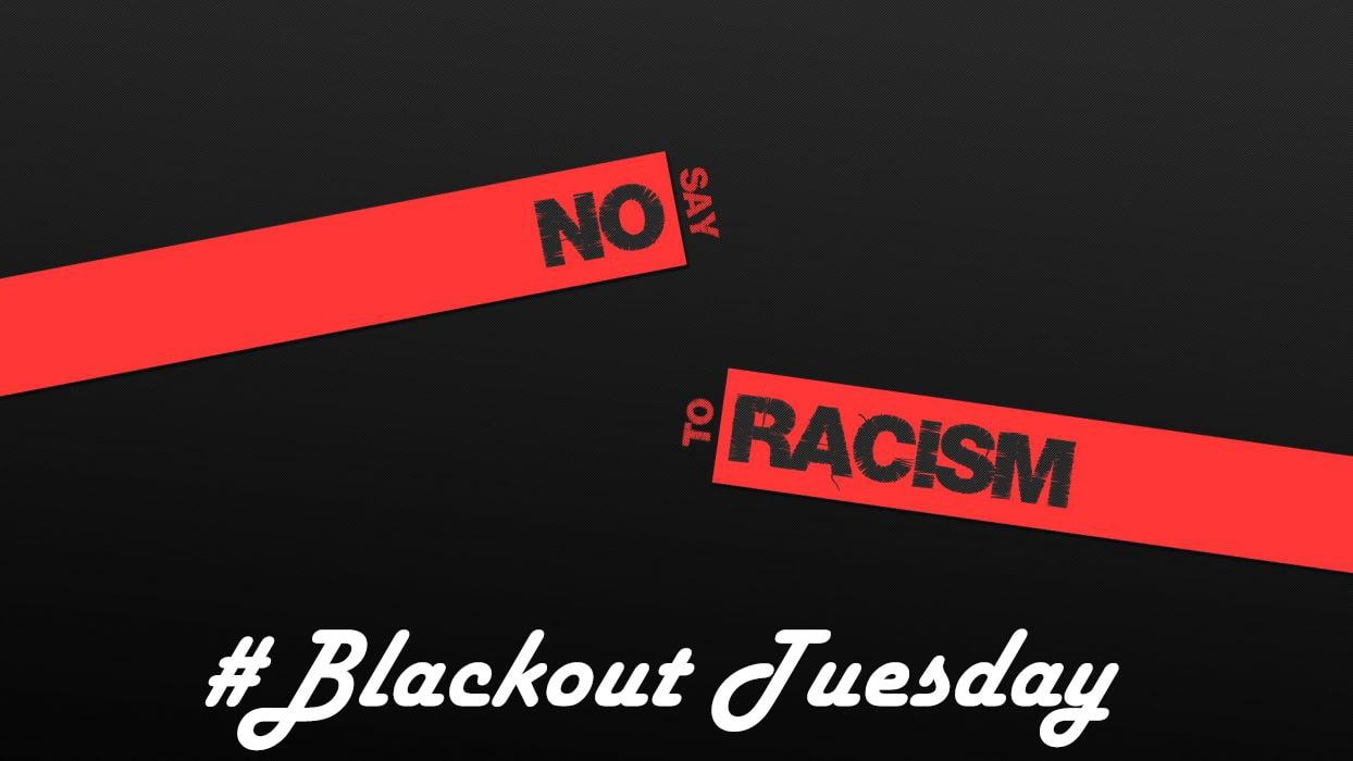 Blackout Tuesday Racism Wallpaper   KoLPaPer   Awesome HD 1244x700