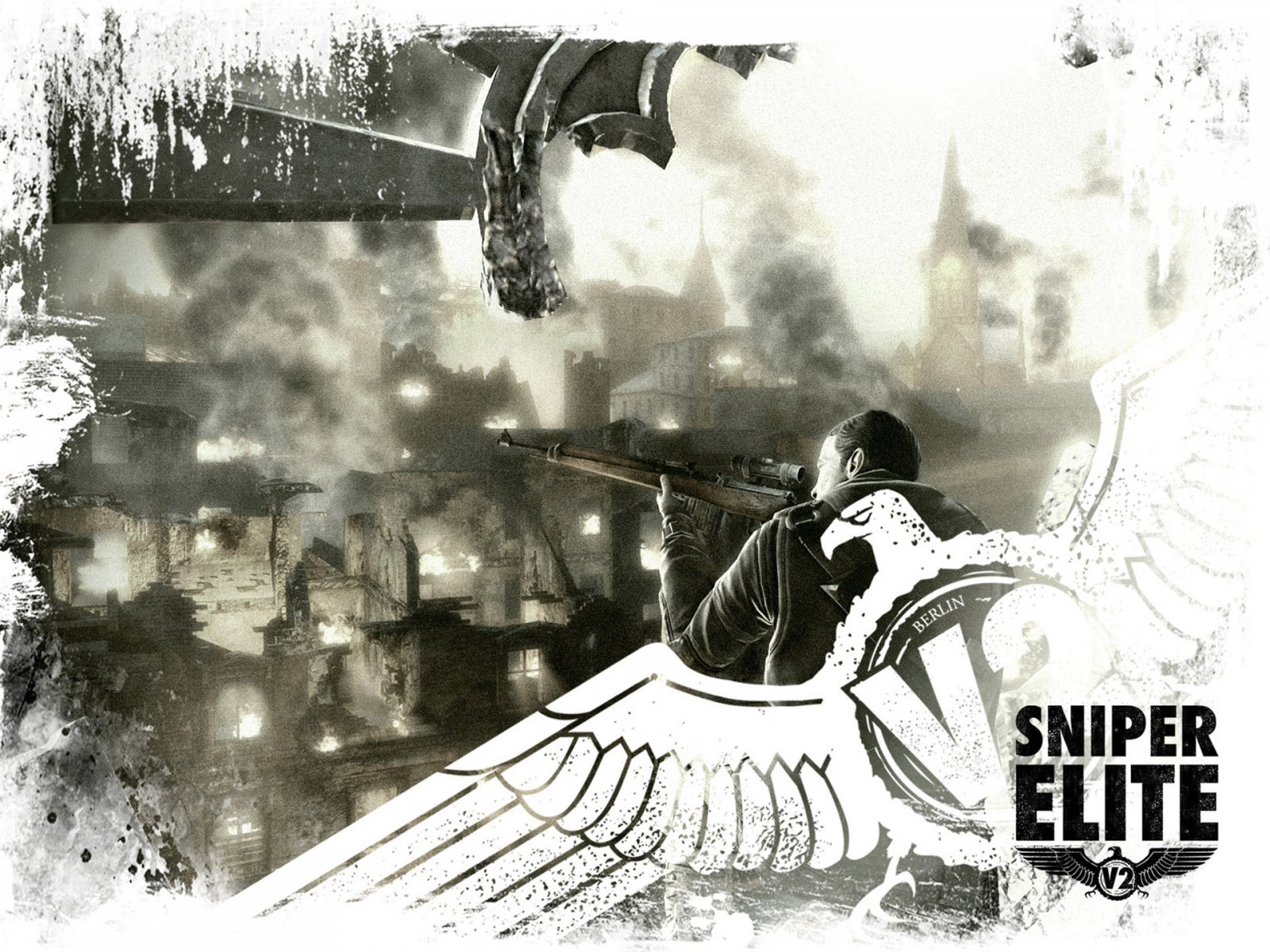 Tags Jareds Wallpaper Wrap Up Sniper sniper elite v2 Walpaper 1600x1200