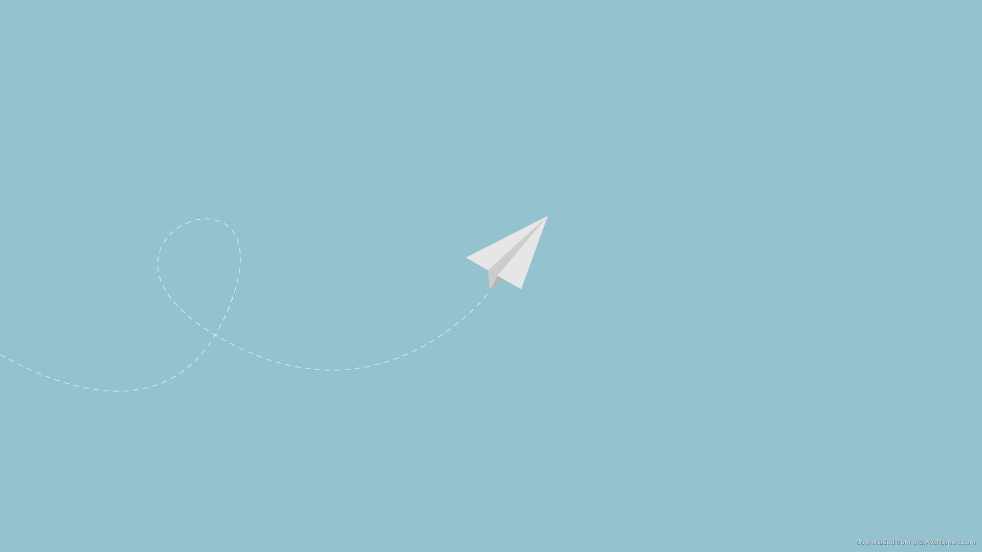 plane minimal flying paper wallpaper wallpapers miscellaneous 1920x1080