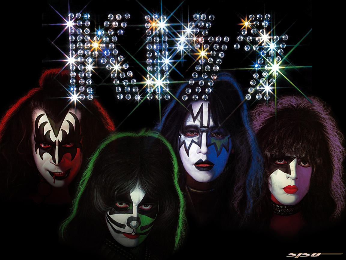 kiss wallpaper 1152x864