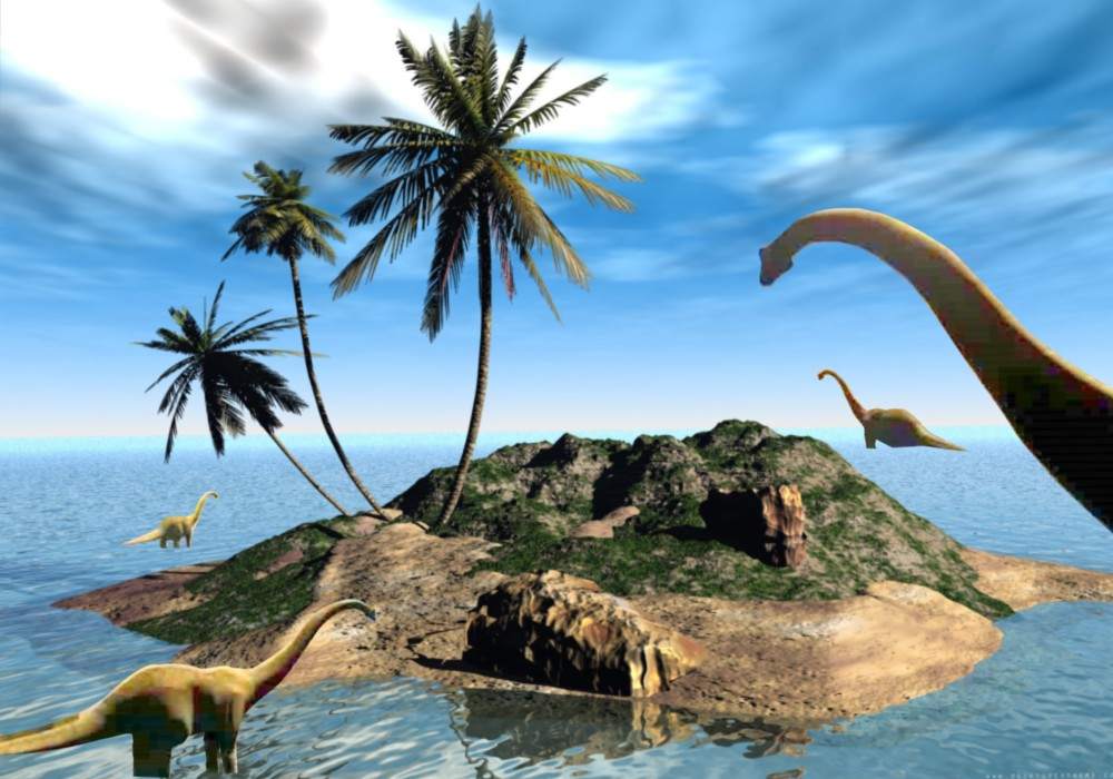 Wallpapers for Kids Dinosaurs Wallpapers Brachiosaurus Family 1000x700